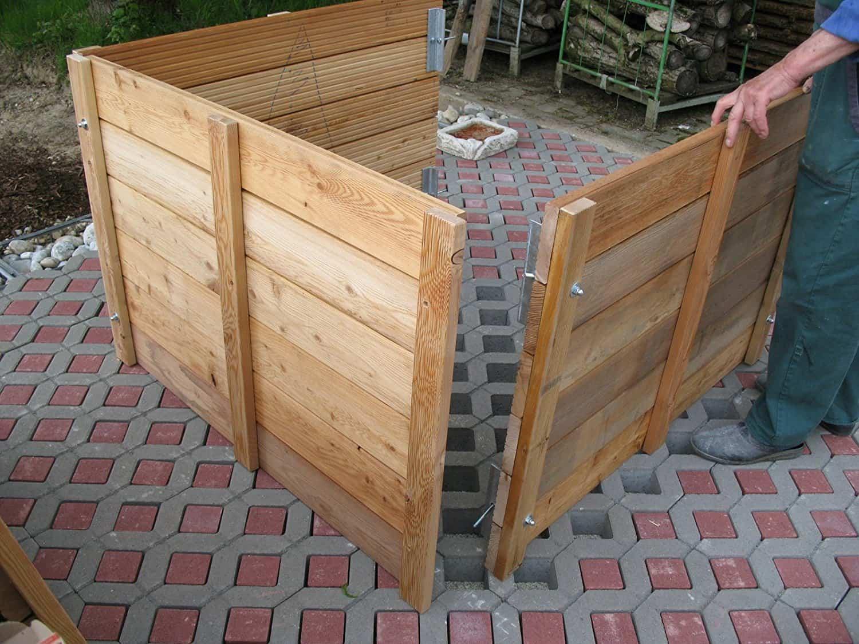 Hochbeet aus Lärchenholz Bausatz