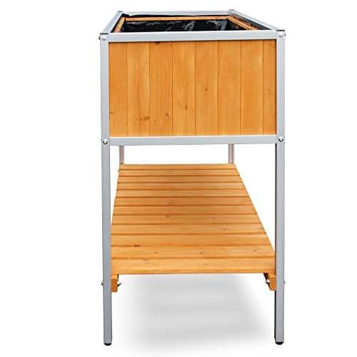 habau hochbeet mit aluminium rahmen gelb ratgeber hochbeet kaufen. Black Bedroom Furniture Sets. Home Design Ideas