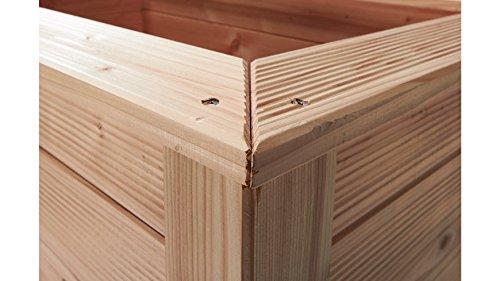 bm massivholz hochbeet typ 523 ratgeber hochbeet kaufen. Black Bedroom Furniture Sets. Home Design Ideas