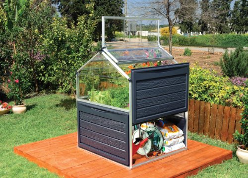 palram 701808 hochbeet 118 x 118 x 146 cm alu plant inn. Black Bedroom Furniture Sets. Home Design Ideas