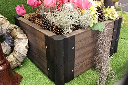 wpc hochbeet erweiterbar blumenbeet stecksystem pflanzk bel ratgeber hochbeet kaufen. Black Bedroom Furniture Sets. Home Design Ideas