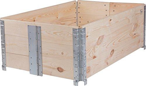 schroth hochbeet rahmen faltbar 120 x 80 x 40 cm ratgeber hochbeet kaufen. Black Bedroom Furniture Sets. Home Design Ideas